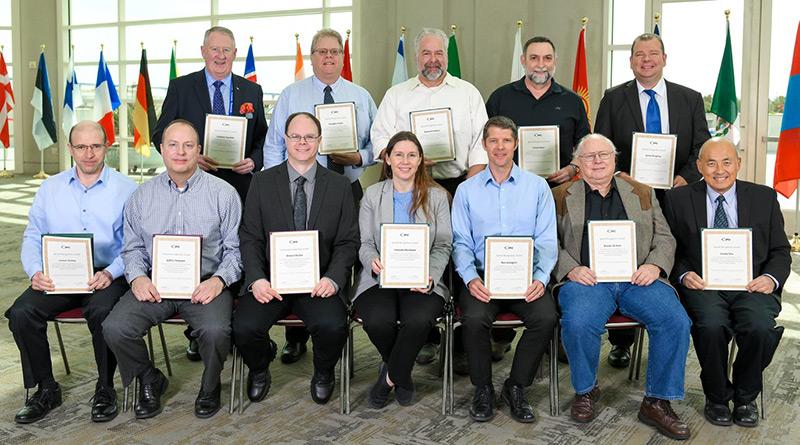 Graham Naisbitt received a Special Recognition Award